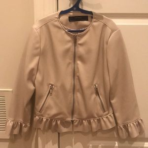 (2 for $30) Zara faux leather jacket